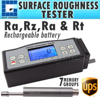 Wholesale Ra Pin - SRT-6210 4 Parameters Digital Surface Roughness Tester (Ra, Rz, Rq, Rt) with Built-in Diamond pin probe +Metric   Imperial Conversion