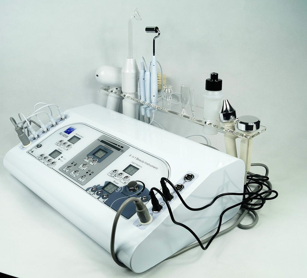 Equipment Colorado Skin Care Supply: 7 In1 Mutilfuction Ultrasonic High Frequency Cautery