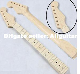 Wholesale Strat Necks - New Maple Guitar Neck Replacement Neck for Strat All Canadian Maple