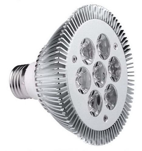 Venta caliente, Par 30 (7x3W) 21W LED Lámpara Bombilla E27 Foco Blanco Frío | Blanco cálido 85V-265V Envío gratis