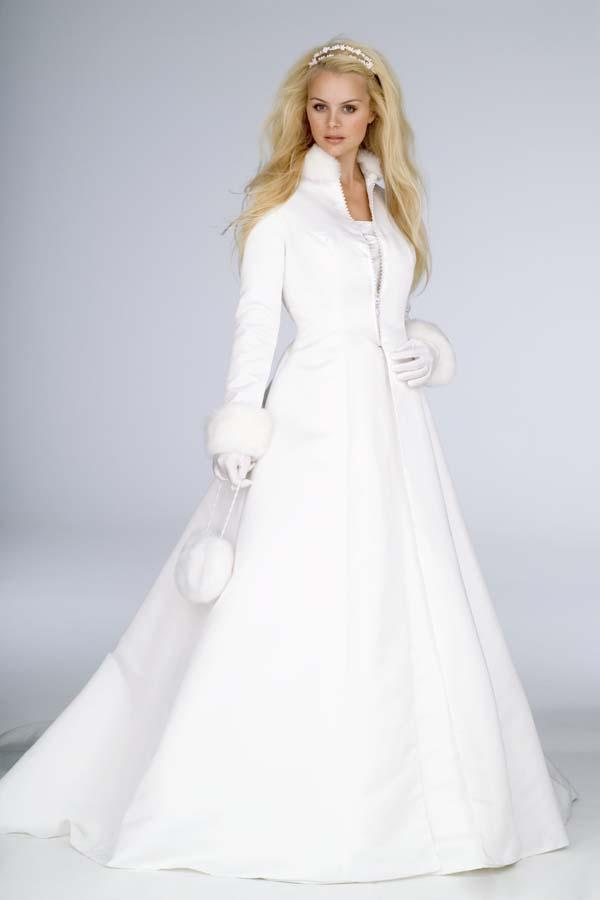 Nice 2018 Winter Wedding Dress Accessories Bridal Cloak Jaket Shawl Cape White  Satin With Faux Fur Long Sleeves Chapel Train Custom Made High Neck Hot  From ... Photo