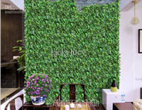 Wholesale climbing wall decor online - 250cm Length Artificial Silk Plastic Simulation Climbing Vines Green Leaf Ivy Rattan for Home Decor Bar Restaurant Decoration