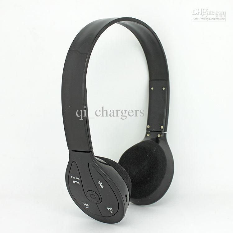 Bluetooth estéreo portátil Headset BH -506 Wireless Stereo Bluetooth para auriculares para teléfonos inteligentes Android iPad Tablet PC