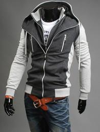 Бесплатная доставка ! новый Assassin's Creed desmond miles Стиль косплей повседневная куртка с капюшоном D2439 на Распродаже
