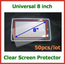 Универсальный Ultra Clear Протектор Экрана 8 дюймов Размер 163x122 мм Нет Розничного Пакета для GPS КПК Планшетный ПК Мобильный Телефон Защитная Пленка