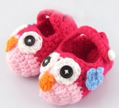 2013 new handmade crochet baby flower shoes kids knit shoes footwear for babies Infant booties 14Style