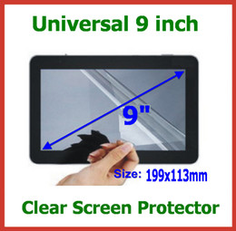 Универсальный ЖК-Экран протектор защитная пленка 9 дюймов не полный Экран размер 199x113mm для планшетных ПК GPS мобильный телефон