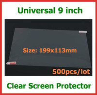 500pcs Universal LCD Screen Protector Guard Film 9 inch NOT ...