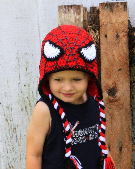 2019 Crochet SuperHero Hats Baby Hats CROCHET PATTERN c932698e645