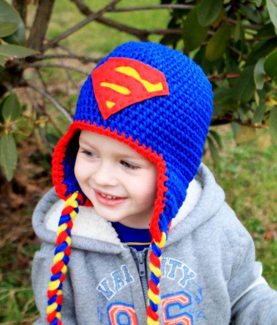 2018 Hot New Crochet Superhero Hats Baby Hats Crochet Pattern Angry