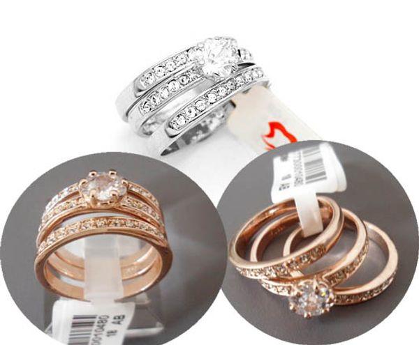 2016 FASHION Jewelry rings for women,ladies Swarovski Crystal 18K gold plated CZ diamond Rhinestone ring