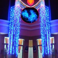 Wholesale Christmas Ornaments Light Colors - 10M 32.81ft Christmas ornament lights,Flash LED light strip,Waterproof light string, 9 Colors lighting,wedding party hotel shop decoration