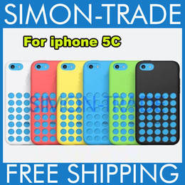 Wholesale Iphone5c Clear - For iphone5C case dot dots back cover case cases fashion clear Silicon crystal design soft rubber TPU color colorful