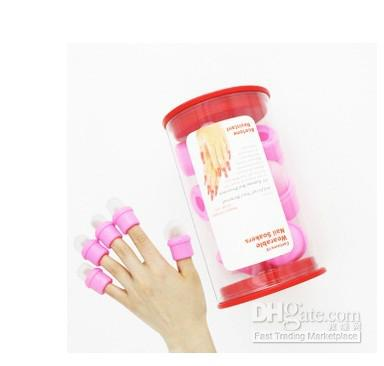 Wearable Salon DIY Nail Acrylic UV Gel Polish Remover Soak Soakers Cap Tool Dropshipping