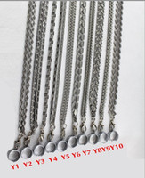 Wholesale Ego Necklace Metal - 2013 NEWEST The Metal lanyard eGo Necklace for e-cigarette Sling eGo Lanyard String CE4 Clearomizer atomizer ego ego-t ego vv ego twist