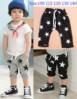 Wholesale Wholesale Design Loose Pants - 2016 Summer Boys Shorts Children Baby Short Pants Star Design Harem Pants Kids Clothes Free Shipping