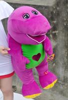 "Wholesale Barney Friends Plush Toys - Retail Free Shipping Barney Child's Best Friend 12"" 30cm Plush Singing animal Toy"