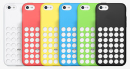 Wholesale Dots Back Cover Protector Cases - New Arrival iphone5C iphone 5C case dot dots back cover protector cases clear Silicon crystal specially designed soft rubber TPU colorful