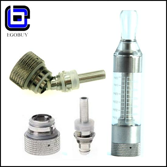 High quality items e cig T3S tank clearomizer atomizer BCC changeable coil 2.5ml vapor T3 update vision ego 510 series by DHL