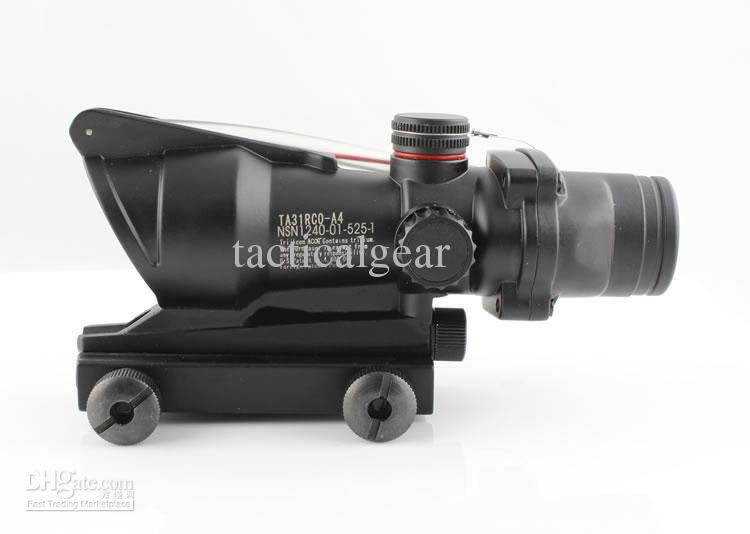 Тактический ACOG TA31 1x32 красная точка прицел черный