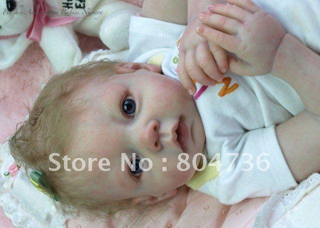 Wholesale Reborn Baby Doll Kit Vinyl Head 3 4 Arms And