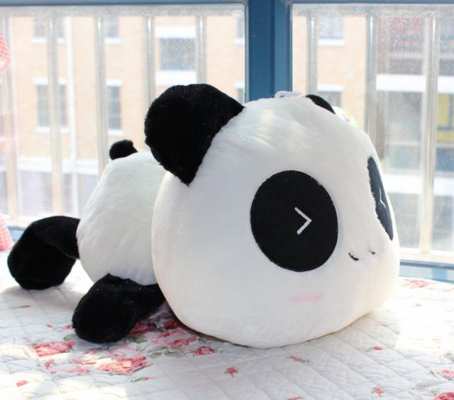 Panda doll Hold pillow Plush toys 25CM Birthday present Baby doll