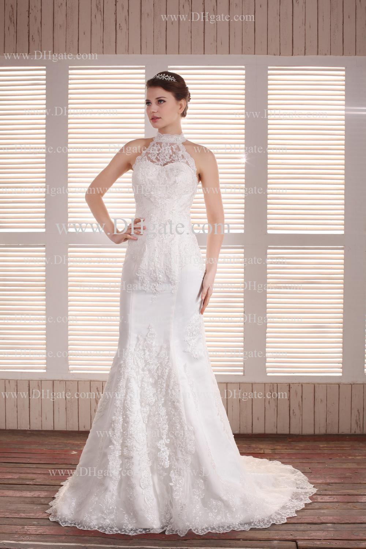 New Arrival Sexy Kim Kardashian Mermaid Wedding Dresses Spagetti ...