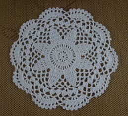 vintage cotton tablecloths Australia - hand made 100% cotton vintage Crochet Doily tablecloths cup mat 21-23CM White Applique 20pcs LOT made to order