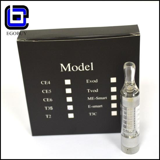 new items T3S tank clearomizer atomizer BCC changeable coil T3 update No Leakage No Leakage No Burn Taste No Crack ego 510 free ship by DHL