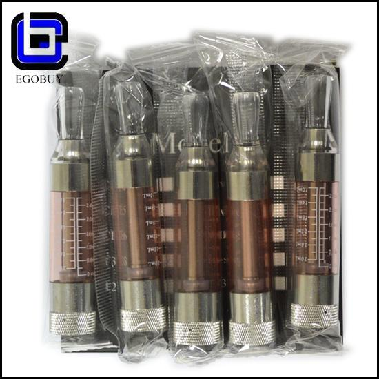 Wholesales hot item e cig T3S tank clearomizer atomizer BCC changeable coil 2.5ml vapor T3 update vision ego 510 series free shipping by DHL
