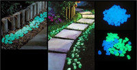 ingrosso le vendite di strizzacervelli-Vendita calda Glow in The Dark pietra resina fotoluminescente pietra leggera per Home Fish Tank Decor Decorazioni del corridoio del giardino