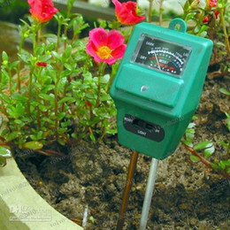 Wholesale Soil Free Shipping - LLFA2314 Free Shipping 3in1 Moisture PH Light Meter for Hydroponic Plant Soil