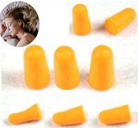 Wholesale Noise Ear Plugs Wholesale - Hot 15Pairs Foam Sponge Earplug Ear Plug Keeper Protector Travel Sleep Noise Reducer Ear Care [HZTJ0005*15]