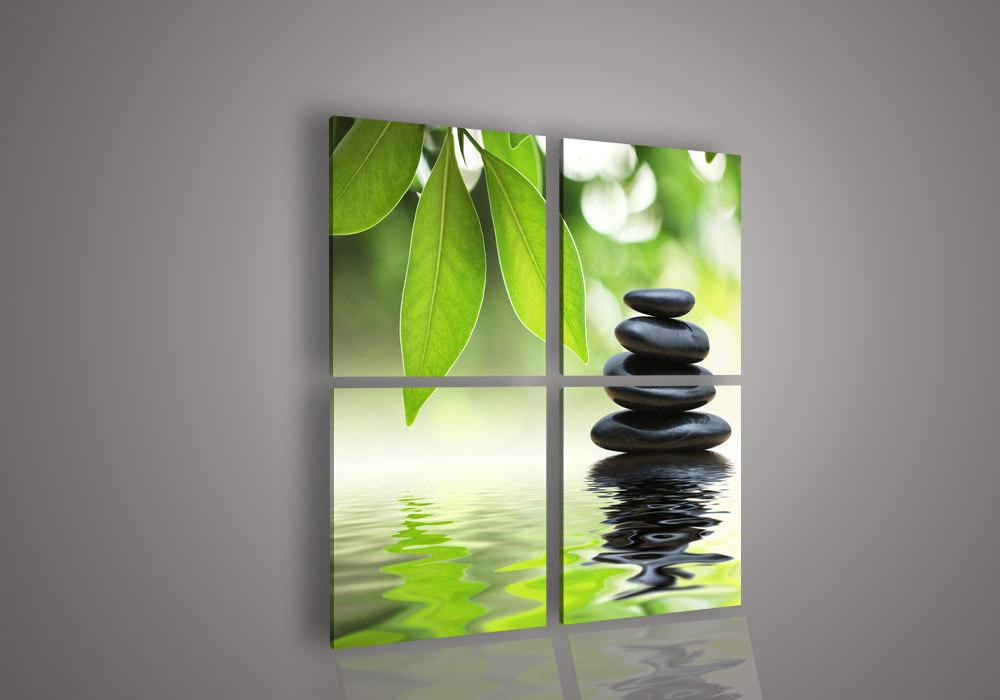 Feng Shui Wall Art best wall art botanical feng shui green picture oil painting on
