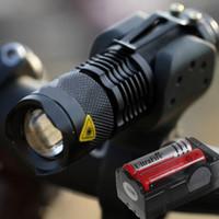 montaje ultrafire al por mayor-Cabeza de bicicleta UltraFire 1600Lm CREE XML T6 antorcha de luz delantera 18650 CH + Mount