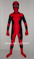 Trajes quentes novos os mais quentes do zentai do traje do Spandex de Deadpool do Deadpool do cospaly de Dia das Bruxas