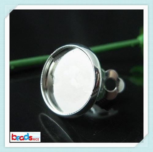 Beadsnice Brassクリップオンイヤリングコンポーネントベース直径10mmクリップイヤリングベースリードセーフニッケルフリーID9707