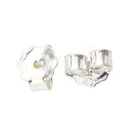 Wholesale Id Making - Beadsnice ID 25338 earring nuts 925 sterling silver earring findings wholesale earing making accessories earring back stopper