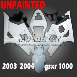 $enCountryForm.capitalKeyWord Canada - Unpainted motorcycle fairings for SUZUKI GSX-R1000 K3 2003 2004 GSXR1000 03 04 GSX R1000 DIY fairing kit cc31