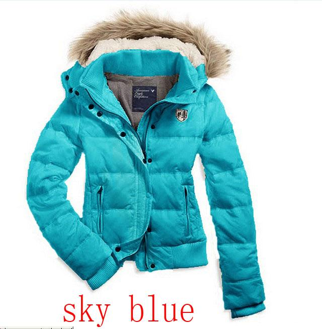 2017 2013 New Women's Fashion Down Coats U.S. Women Down Jacket ...