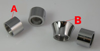 anéis do conector da bateria venda por atacado-Mais novo anel Adaptador ViVi Nova Atomizador Conector Anel 3.5 ml 2.0 ml vivi nova adaptador para EGO Bateria Anel Cigarro Eletrônico