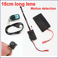 UK 12 hours camera - Free shipping 15cm long lens Camera 1920X1080P 3800MAH Big battery Work time 12 hours with Motion detection Support 32GB TF card