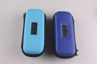 Wholesale Ego Pack Box - NEWEST and Colorful ego carrying case ecig box with ego logo eGo s-size Carry Case in 11 colors zipper case packing