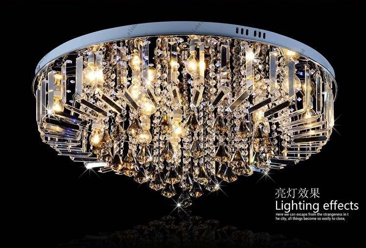 Kristall Led Kronleuchter ~ Großhandel dia cm cm led rgb kronleuchter moderne kristall