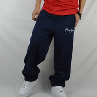 Wholesale Street Dancing Pants - Thicken with hip hop pants men pants street dance pants men's sweat pants parkour sports leisure trousers