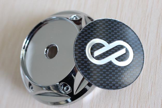 2017 68mm Abs Chrome Advan Enkei Wheel Center Caps Hub Cap