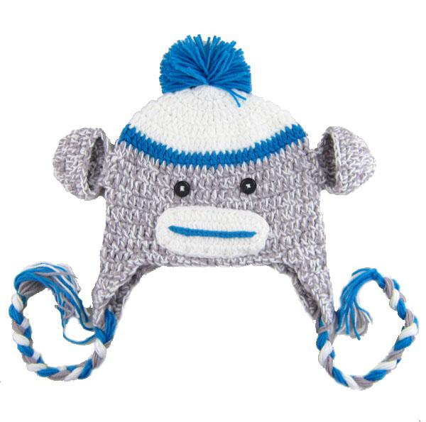 4801258fba2 2018 New Owl Earflap Crochet Hat 30 Design Baby Kids Wool Weaving Hat Hand  Woven Kids Hat Knitting Wool Monkey Hat Animal Prints Hat From Lulu1025