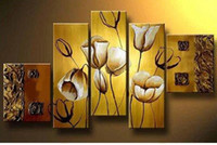 Wholesale Modern Abstract Huge Wall Ornaments - Hand-painted MODERN ABSTRACT HUGE WALL ORNAMENTS CANVAS OIL PAINTING no frame5p