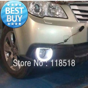 Subaru Outback 2012 Led Drl Daytime Running Light Flicker Turn Signal Light Guiding Ring Fast Free Shippng By Fedex Led Fog Led Fog Bulbs From