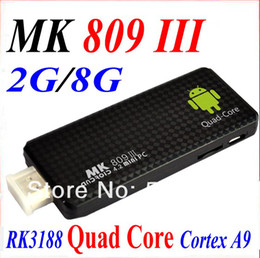 2019 google hdmi dongle Quad core RK3188 Caixa de TV Google MK809III Android 4.2.2 2 GB de RAM 8 GB ROM 1.8 GHz Max Bluetooth Wi-fi Google TV Player HDMI MK809 III